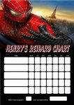 Personalised Spider-man Reward Chart (adding photo option available)